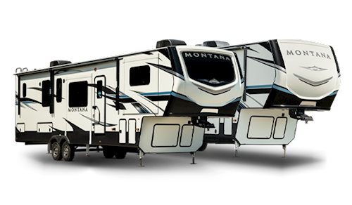 RV types trailers fifth wheels,