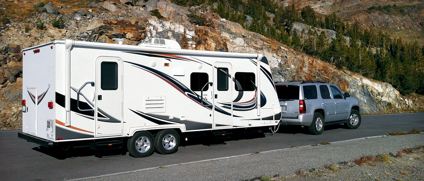 RV types trailers fifth wheels, travel_trailer, #drivebytourists