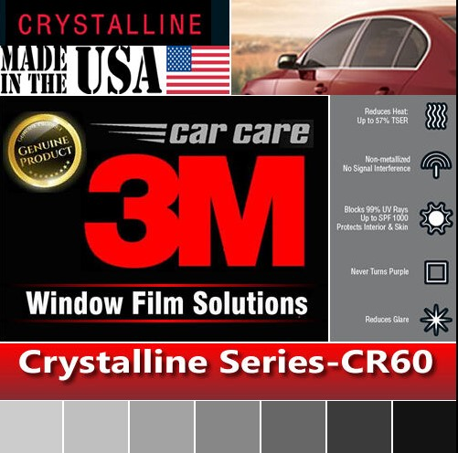 3M Crystalline Tint for Driveby Tourists purchases list